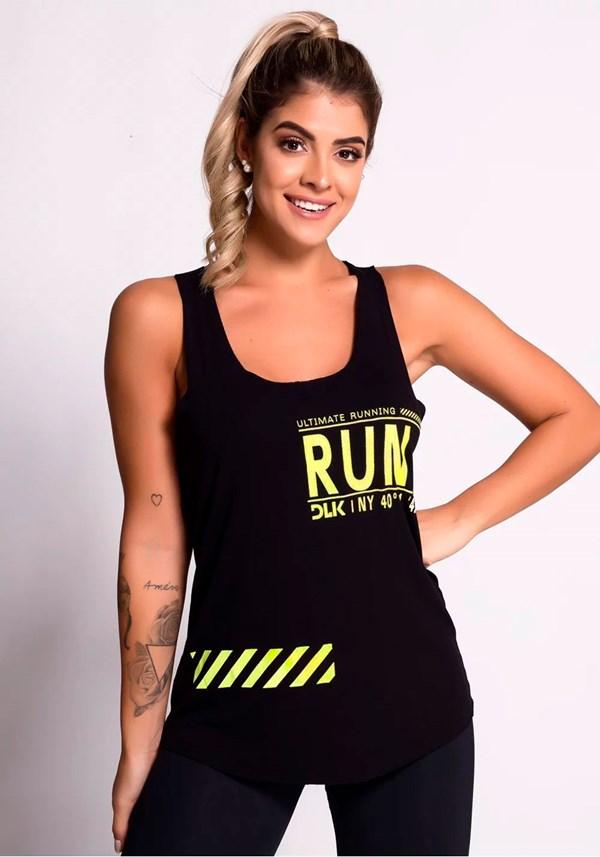 Regata preta com silk ultimate running