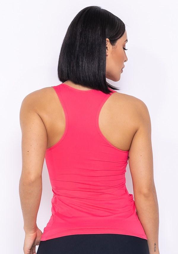 Regata technology com bolso lateral rosa chiclete
