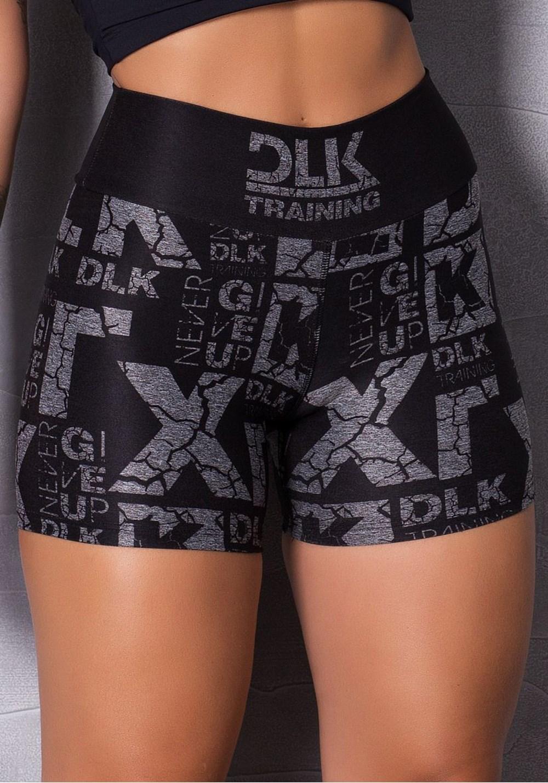 Short mescla printed training dlk