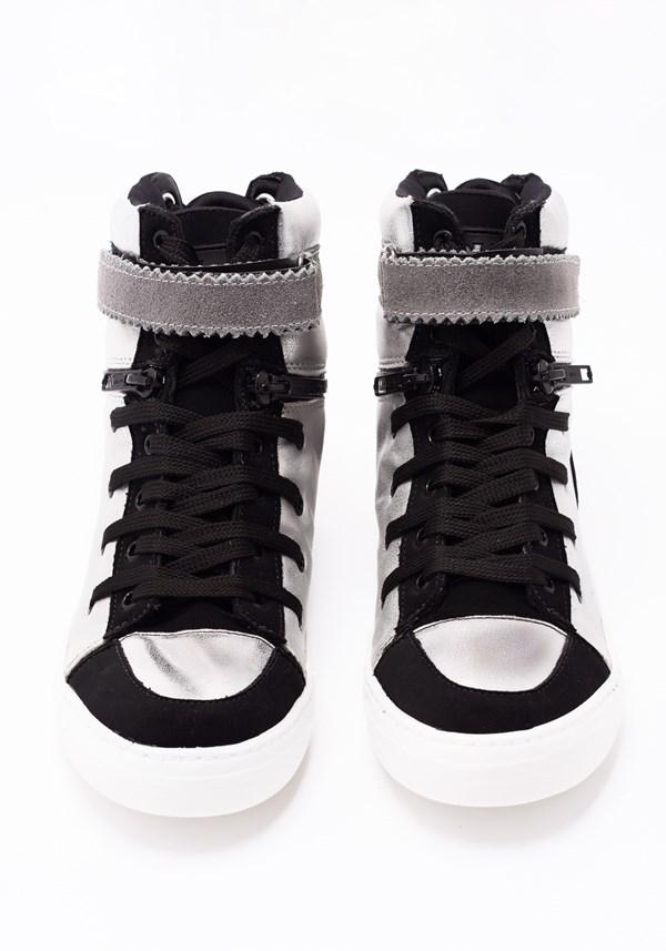 Sneaker cano médio super shine