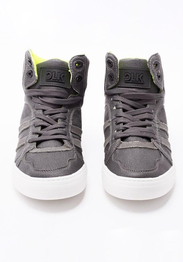 Sneaker couro ecológico grafite