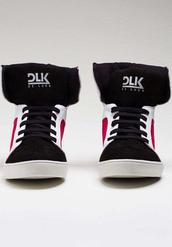 Sneaker dlk branco com pink