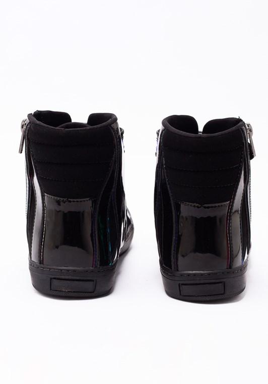 Sneaker preto holografic