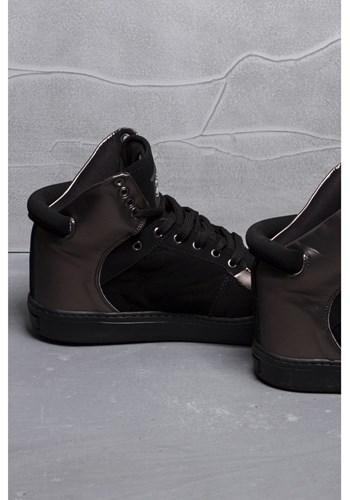 Sneaker preto specchio fosco