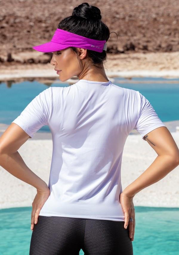 T-shirt branca dlk girls