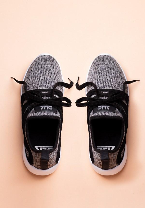 Tênis basic mescla com preto
