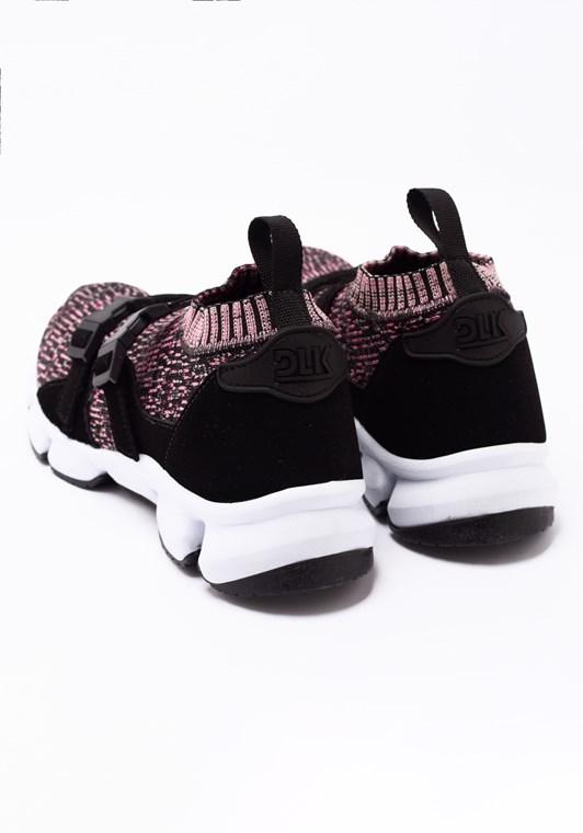 Tênis sock rosa mescla