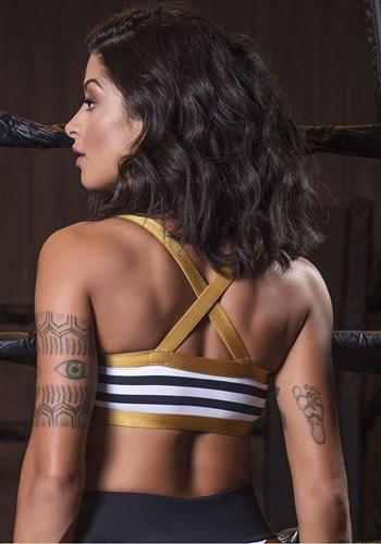 Top gold stripes